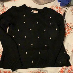 Skull pattern sweatshirt